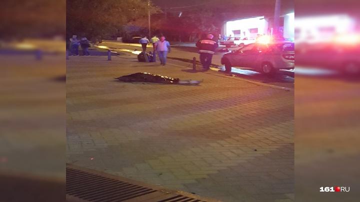 В Ростове иномарка насмерть сбила подростка на мопеде