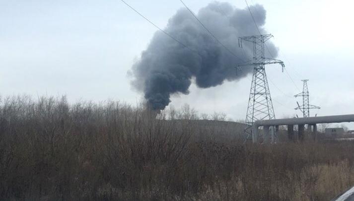 Для тушения пожара на городской свалке в Челябинске запустили беспилотник и «Аналитик-Р»