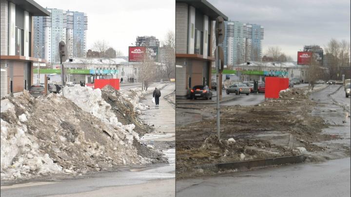 Пока не впечатляет: проверяем, как убрали город после объезда мэра