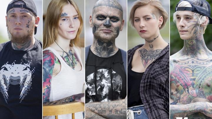 Моё тело — это моё дело: истории пяти челябинцев, сделавших татуировку на лице