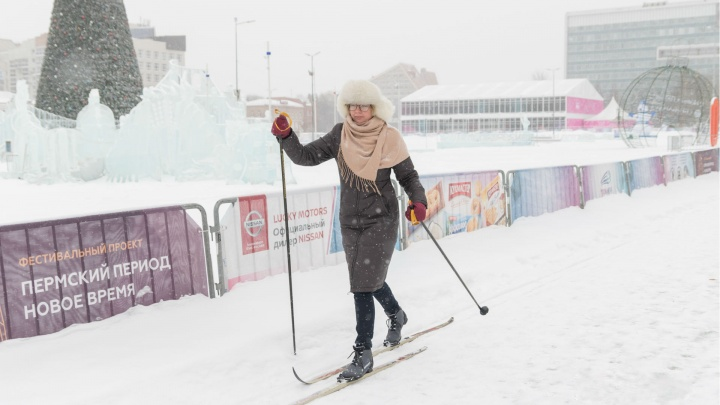 Трасса прямо на эспланаде: в центре Перми пройдет первый городской лыжный спринт