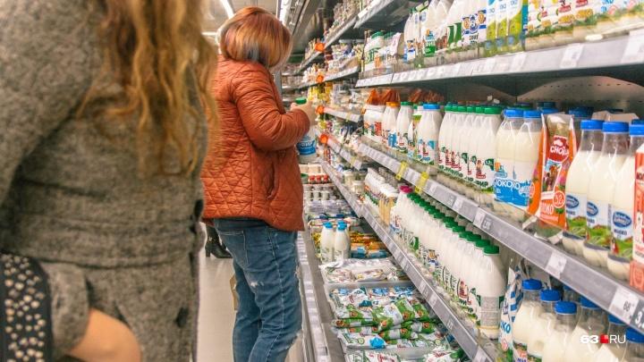 С прилавков самарских магазинов сняли 64 кг фальшивой молочки