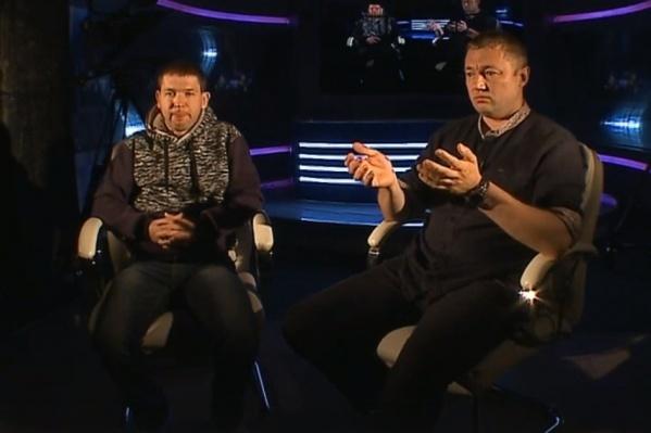 Константин Левицкий и Дмитрий Пустовой — отцы пострадавших девочек