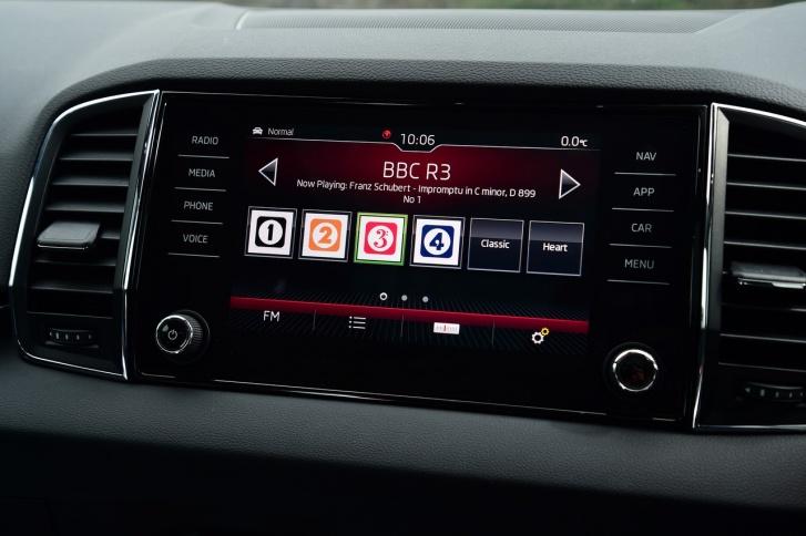 Некоторые опции появятся со временем, например, мультимедийная система Bolero с большим экраном на центральной консоли