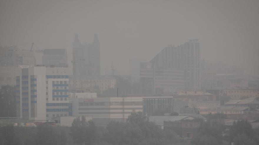 Учёные опубликовали спутниковые снимки смога над Новосибирском. Это страшно