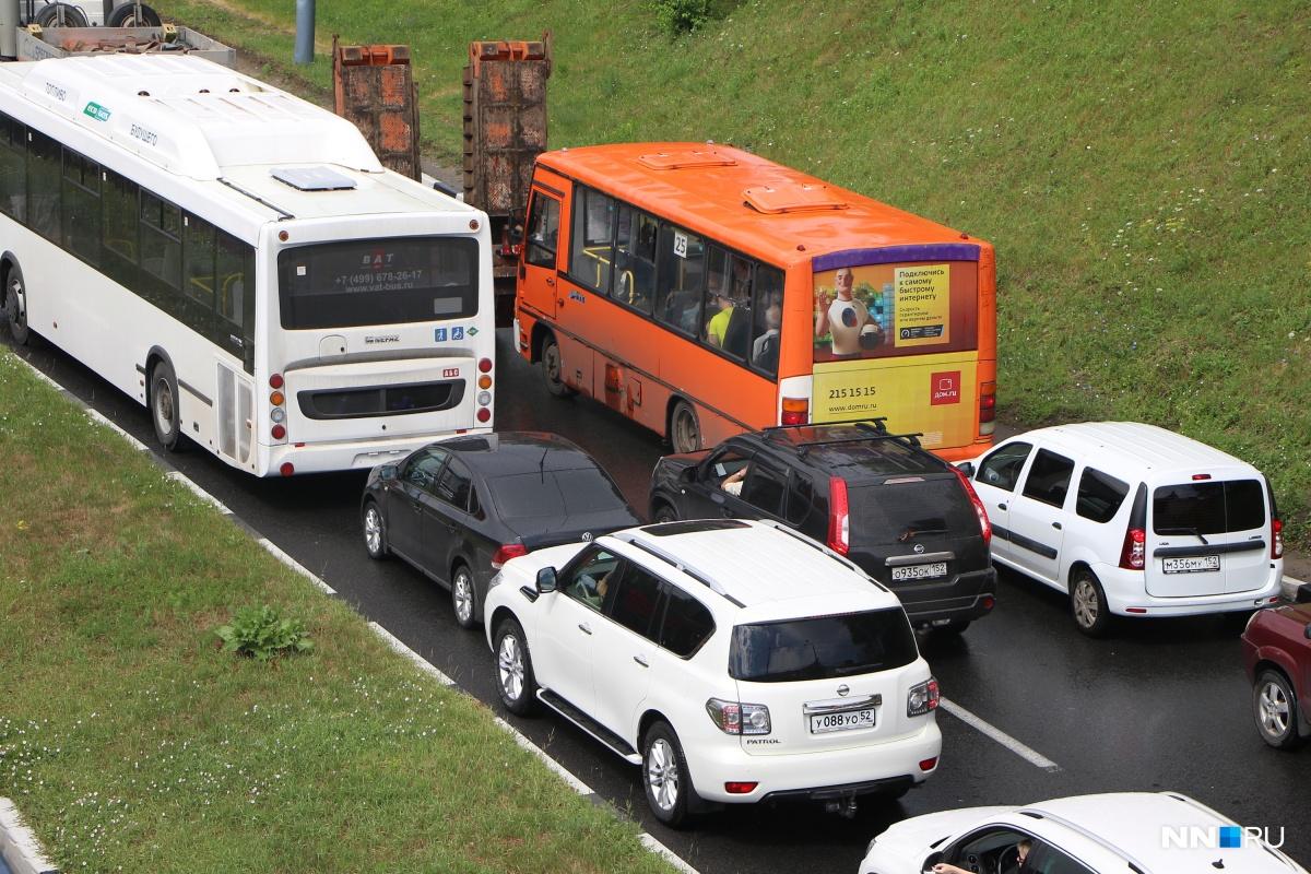 Пробки на Окском съезде должны уменьшиться