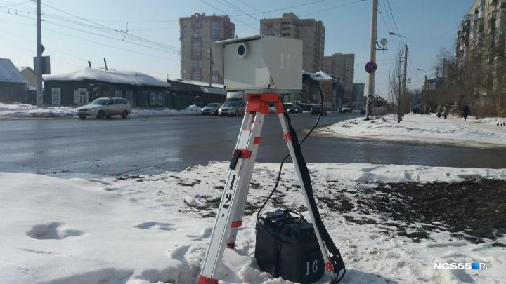 В Госавтоинспекции назвали места, где установят камеры-треноги 2 марта