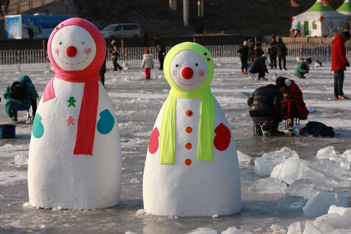 Фестиваль форели в Пхёнчхане