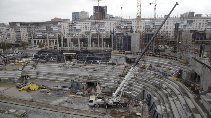Дворец спорта на Молодогвардейской планируют достроить раньше срока