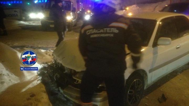 В Советском районе столкнулись две легковушки: пострадала женщина