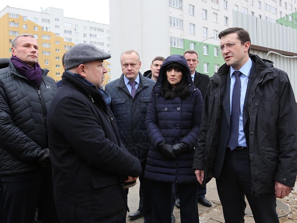 Врио губернатора поручил активизировать работу поблагоустройству Нижнего Новгорода