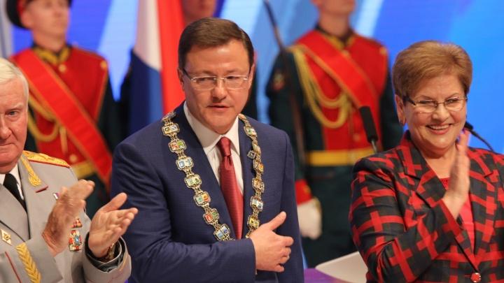 «Я не подведу»: Дмитрий Азаров официально вступил в должность губернатора области