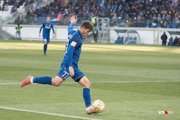 Хавбек выходил в майке «Ротора» 45 раз и забил пять голов