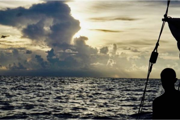 Клочковы путешествует на яхте с 2015 года