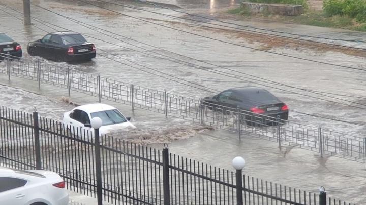 Как из ведра: вчерашний ливень в Самаре стал рекордным
