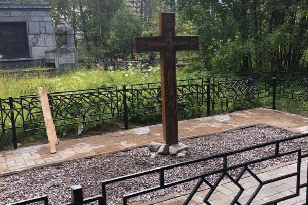 Благоустроенный мемориал откроют 14 сентября<br>