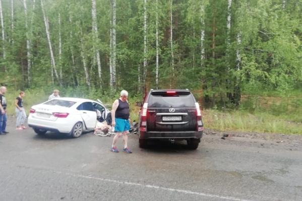 Авария произошла в Аргаяшском районе, недалеко от Аргазинского водохранилища
