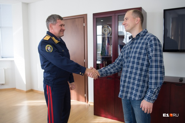 Руководитель регионального СУ СКР начал свою работу на новом посту 13 сентября