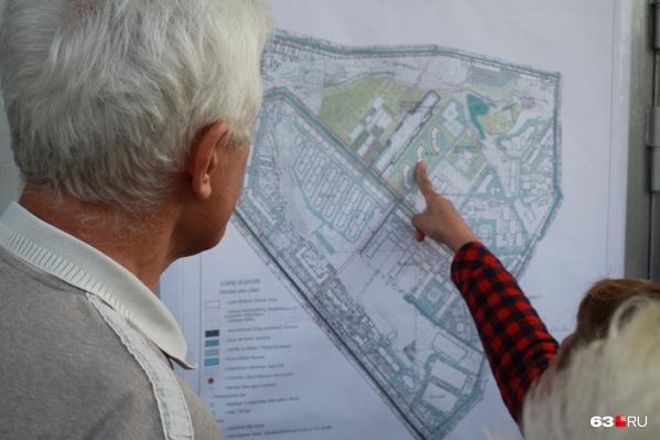 Чиновники уже показали местным жителям схему участка, где построят здание