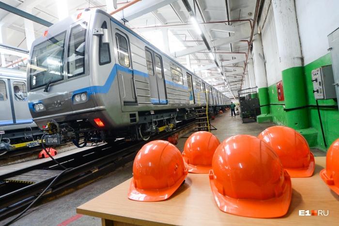 Новые поезда в метро Екатеринбурга впервые закупили в 2011 году, но при этом увеличили цену на проезд