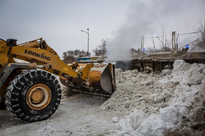 Станция может расплавить до тысячи кубометров снега в сутки