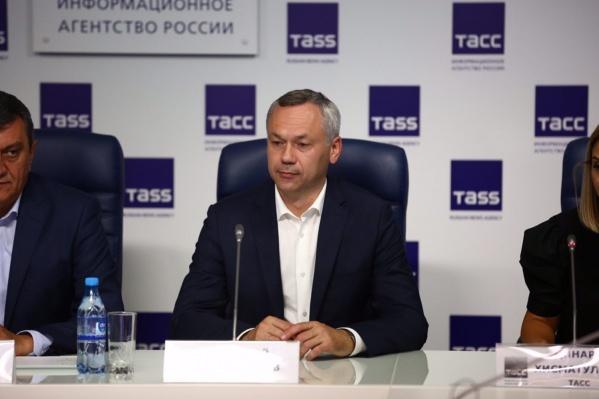 Андрей Травников официально стал губернатором на ближайшие пять лет
