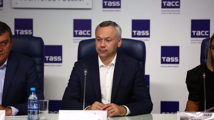 Больше не врио: Травников получил 64,52% голосов на выборах