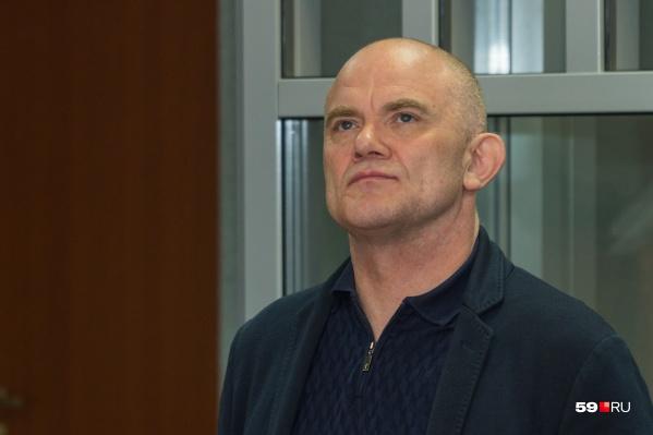 Владимир Нелюбин на вынесении приговора 20 мая