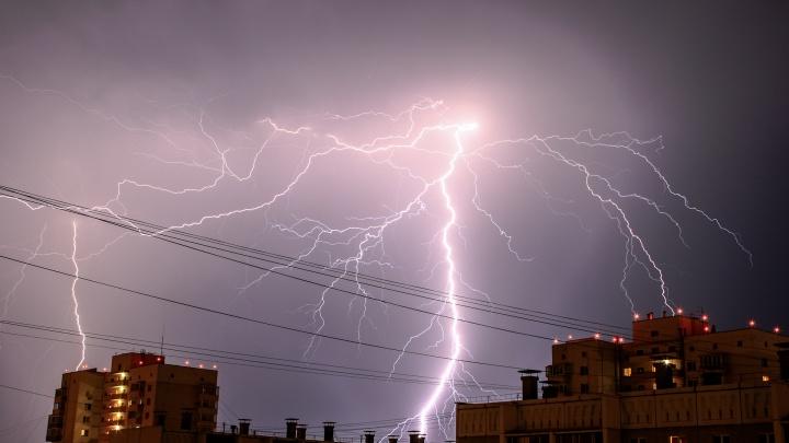 Грянет гром: южноуральцев предупредили о приближении грозы и штормового ветра