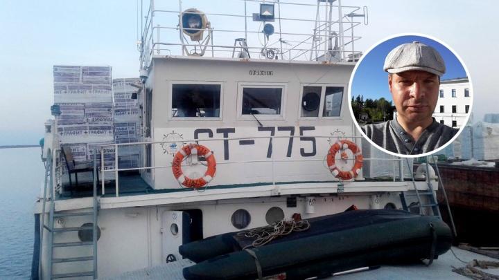 Под Тобольском ищут помощника капитана, пропавшего во время рейса по Иртышу