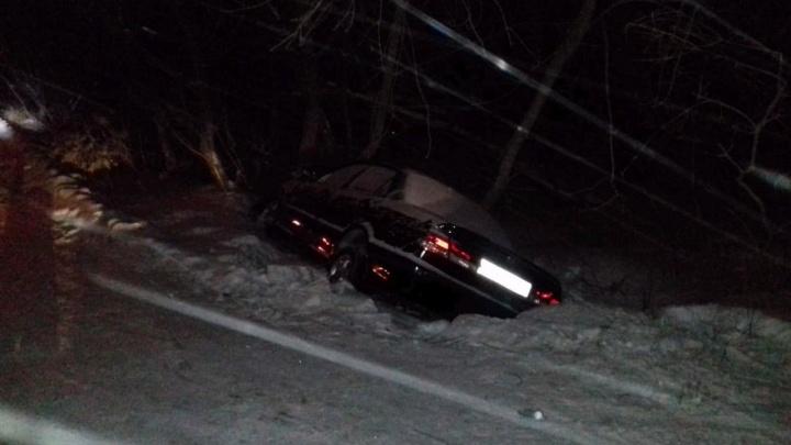 В Омске водитель иномарки сбил парня и девушку. Молодой человек погиб