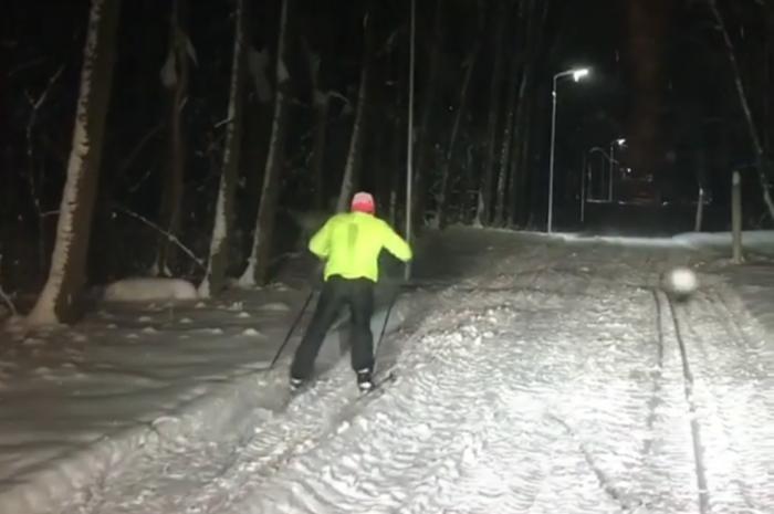 Лыжники уже опробовали новую трассу