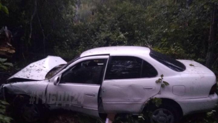 В лагере «Гренада» 12-летний подросток угнал авто воспитателя и разбился при попытке уехать