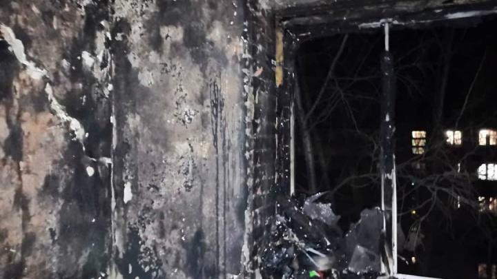 В Башкирии при пожаре в многоэтажке погибла женщина