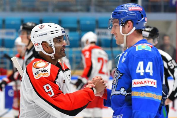 Найджел Доус стал первым в истории хоккеистом «Автомобилиста», забросившим шайбу в пяти подряд матчах КХЛ