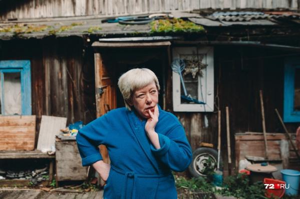 Лидия Бабанова пытается доказать, что имеет право на дом, на который у нее нет документов