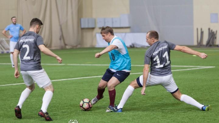 Обилие борьбы на каждом участке футбольного поля: состоялся шестой тур «Лиги чемпионов бизнеса»