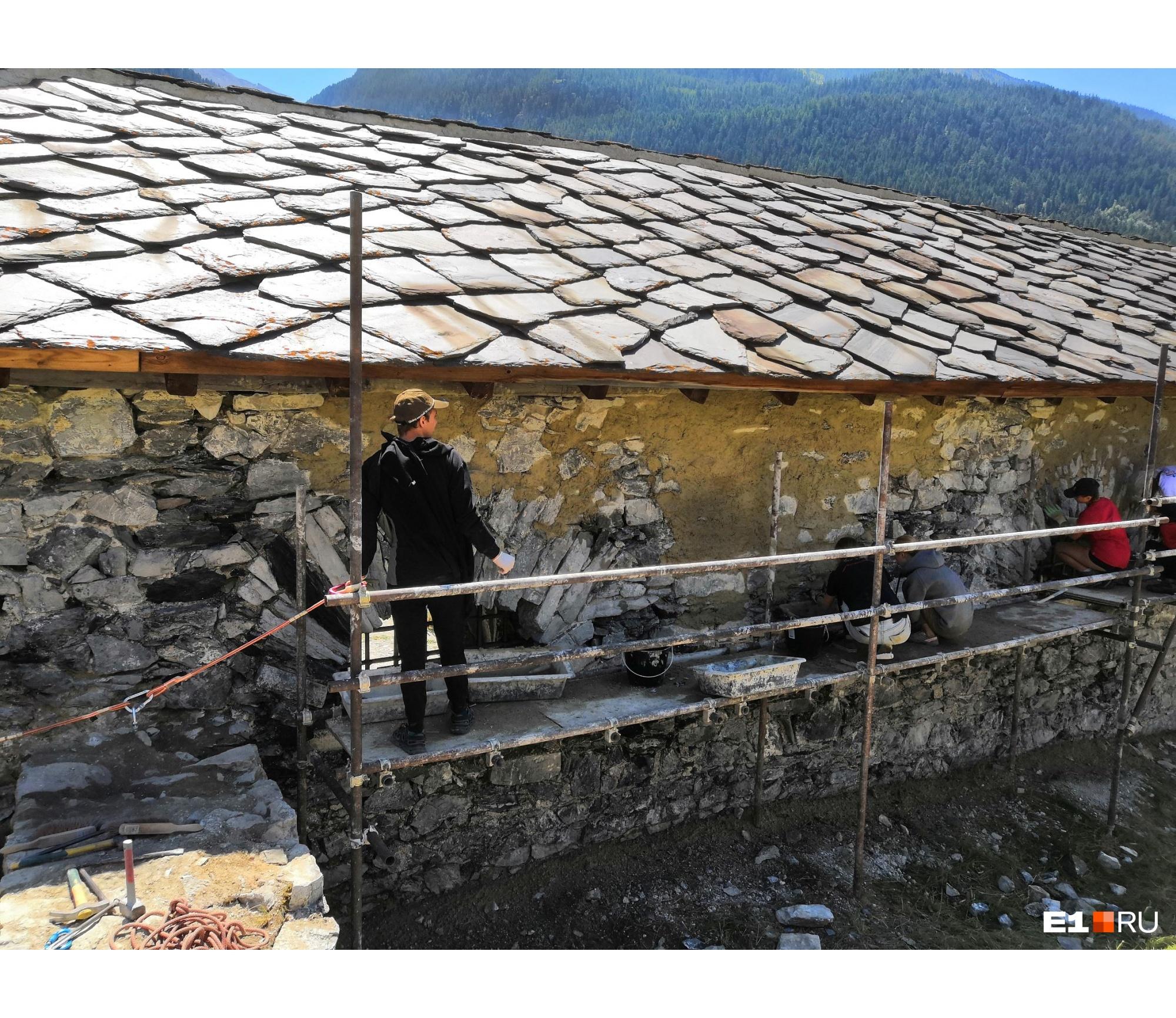 Восстановление стены