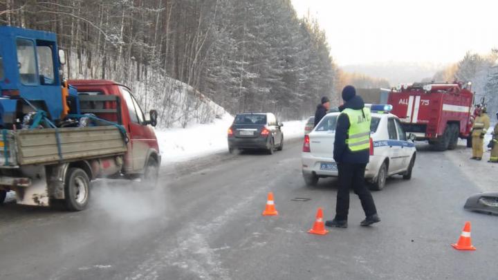 Четверо погибли, ещё четверо ранены: авария на трассе М-5 остановила движение