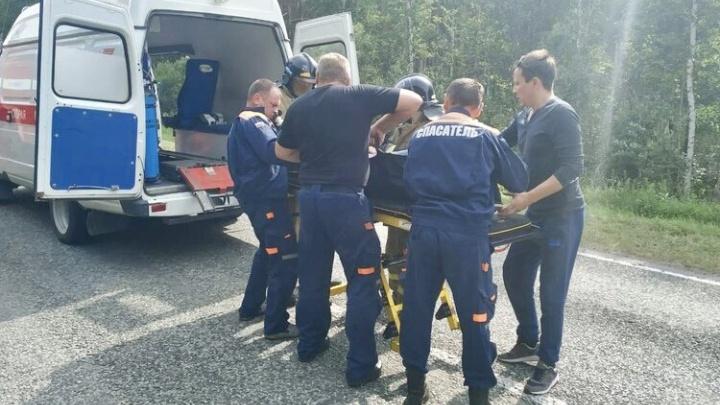 Одна из пострадавших в ДТП с автобусом, случившемся в Зауралье 10 августа, умерла в больнице