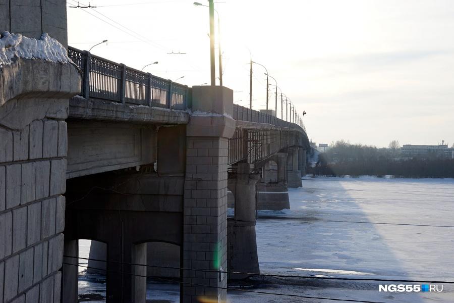 Ленинградский мост вОмске могут отремонтировать в2016 году