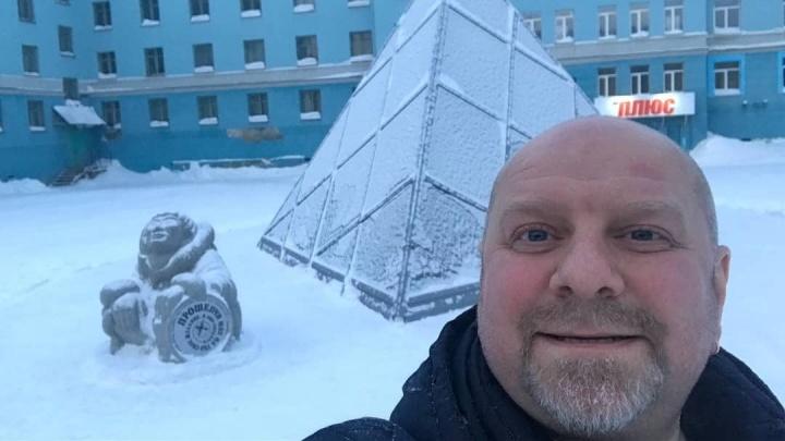 Актёр из Украины прогулялся по Норильску и изумился 3-этажным сугробам