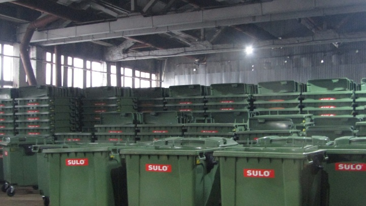Для самарских дворов закупили 2020 новых евроконтейнеров для мусора