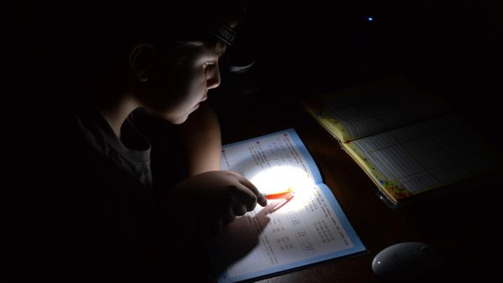 Этим утром жители Уралмаша остались без электричества