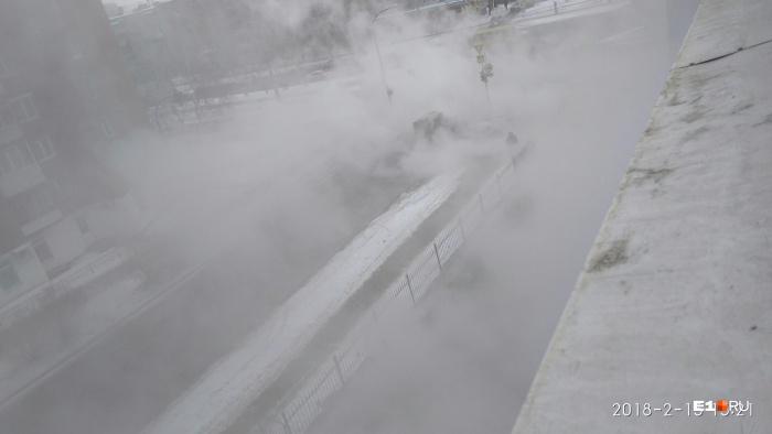 Техническую заволокло туманом