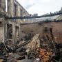 В «Донэнерго» не считают себя виноватыми в пожаре, уничтожившем жилой район на Театральном спуске