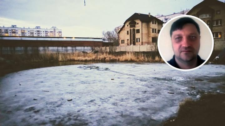 «Ребёнок отчаянно цеплялся за льдину»: омич рассказал, как доставал мальчика из котлована