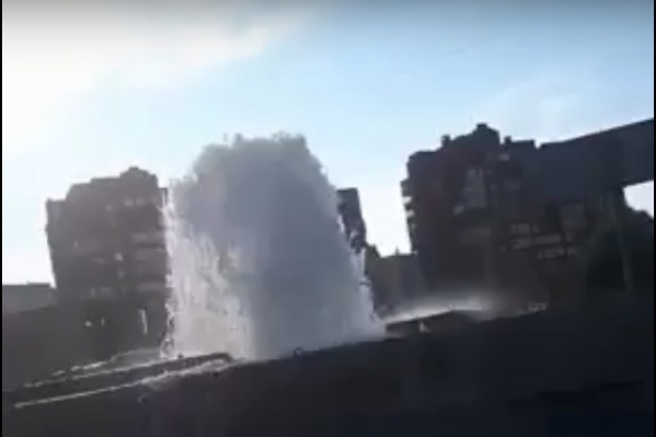 Видео записали жители микрорайона «Северный»