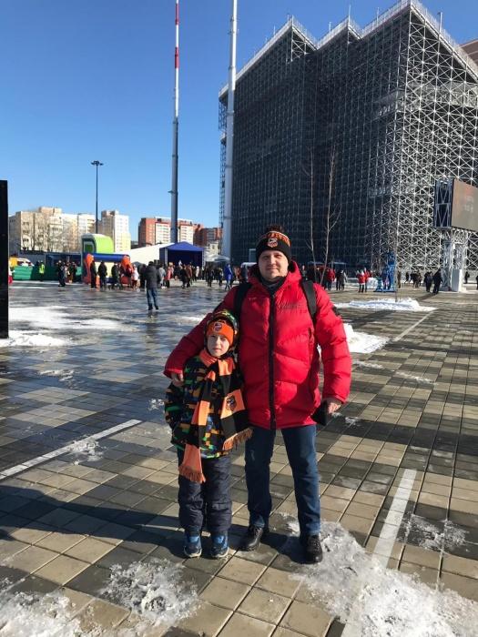 Александр с сыном Иваном