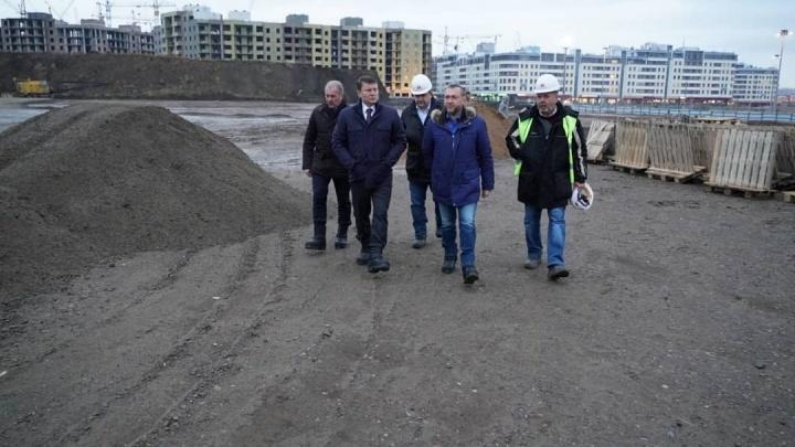Инвесторы показали, как выглядит площадка под будущий аквапарк